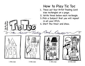 Tic Toc - An Artist Trading Card Game