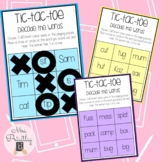 Tic-tac-toe Decode the words