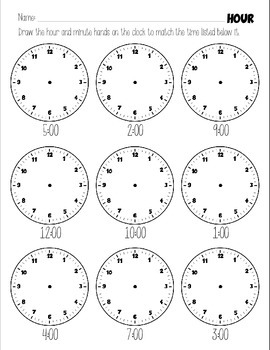 Tic-toc Reading a Clock - BUNDLE SPECIAL! Tell time in no time!