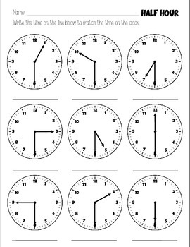 Tic-toc Reading a Clock - PART ONE - Tell time in no time!