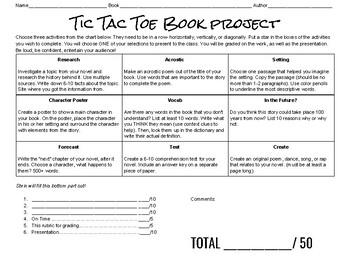 TicTacToe Book Report