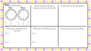 TicToc Time Activity