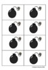 Tick Tick BOOM Digraph Reading Game (Ch, Ph, Wr, Kn)