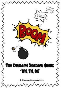 Tick Tick BOOM Digraph Reading Game (Wh, Th, Sh)
