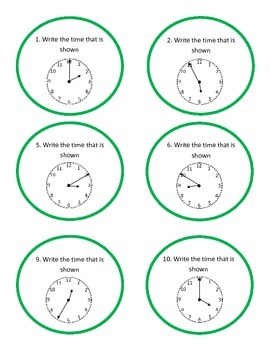 Tick Tock Beat The Clock - Time Board Game