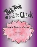Tick Tock Beat The Clock - Time Board Game