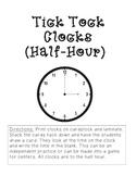 Tick Tock Clocks (half-hour)