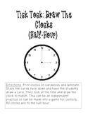 Tick Tock: Draw the Clocks