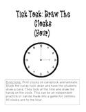Tick Tock: Draw the clocks (hour)