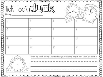 Tick Tock Duck
