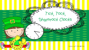 Tick, Tock, Shamrock Clocks