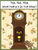 Tick Tock Time Clock SMARTBOARD PLUS FREAKY Fun Facts