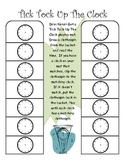 Tick Tock Up the Clock~ Telling Time Work Station