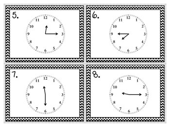 Tick Tock on the Clock! {Telling Time Task Cards}