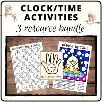 Tick tock clock bundle