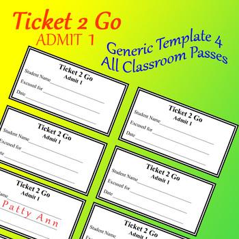 Ticket 2 Go > All Occasion Pass or Reward Cards! > EDITABLE Doc + Original PDF