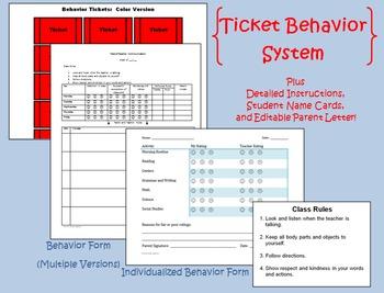Ticket Behavior System