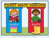 "Ticket Booth Digraphs - Working with the Vowel Sounds of ""oo"""