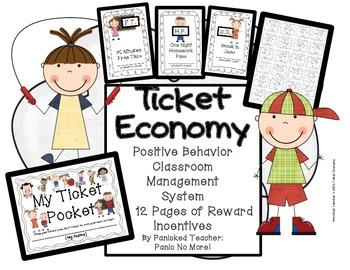 Ticket Economy System: Positive Behavior Management