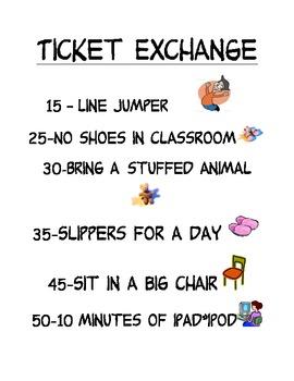 Ticket Exchange Poster - Peanuts Font