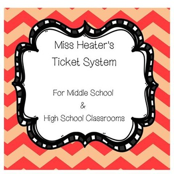 Ticket Incentive System