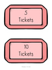 Ticket Labels - Classroom Management Resource