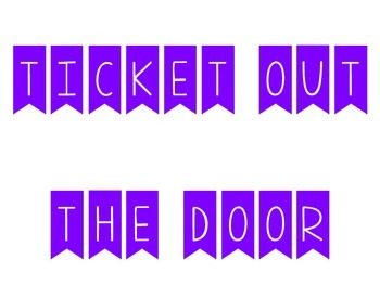 Ticket Out the Door - What Stuck With You?