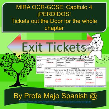 Ticket out the Door: Mira-OCR-HIGHER: ¡PERDIDOS!