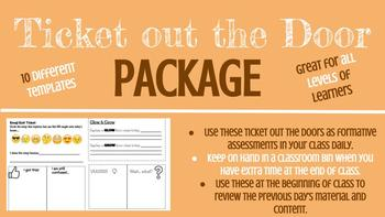 Ticket out the Door Package