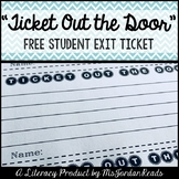 """Ticket out the Door"" - Student Exit Ticket"