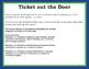 Ticket out the Door - Regular -ar verbs in the Spanish Preterite Tense