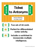 Ticket to Antonyms II