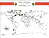 Ticket to Christmas (Countries Labeled)