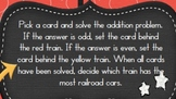 Ticket to Ride: 2-Digit Addition (no regrouping)