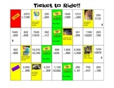 Ticket to Ride - Addition/Subtraction