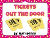 Tickets Out The Door: Template