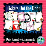 Tickets Out the Door: Exit Slips for Formative Assessment