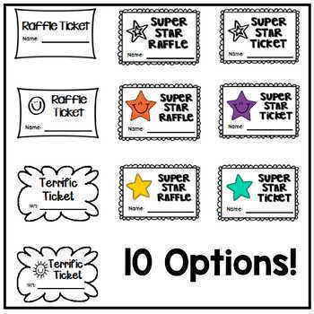 Tickets! Tickets! Printabl... by a TEACHER on a MISSION | Teachers ...