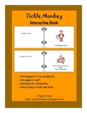 Tickle Monkey Interactive Book