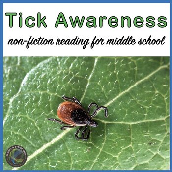 Science Sub Plans: Ticks and Lyme Disease Awareness