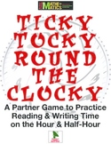 Telling Time Practice Game for Partners