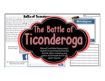 French and Indian War Ticonderoga