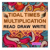 #300 sale Tidal Times Multiplication Concept and Facts-Read, Draw, Write