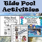 Tide Pool Activities (Cut and Paste, Mix and Match, Diorama Theatre)