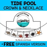 Tide Pool Animals Activity Crown and Necklace