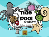 Tide Pool Creatures {emergent reader, write the room}