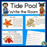 Tide Pool Write the Room, Matching Games, and Reading Comp