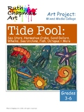 Tide Pools: Art Lesson for Grades 3-6