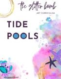 Tide Pools - Art Lesson Bundle - The Glitter Bomb