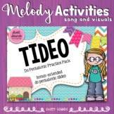 Tideo Melody Practice Activities